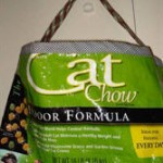 Reusable Shopping Bag from Cat Food bags