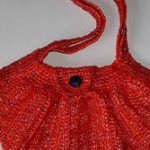 Reusable Shopping Bag Crocheted from Plastic Newspaper Bags