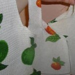 Reusable Shopping Bags from Tea Towel Tutorial