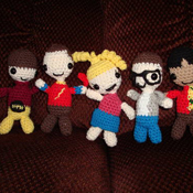 Big Bang Theory Amigurumi