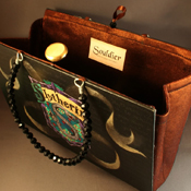 Slytherin Book Purse