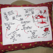 Buffy Hush Pillow