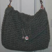 Knit and lined messenger bag tutorial on Craftster