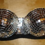 DIY Lady Gaga Disco Ball Bra Tutorial on Craftster