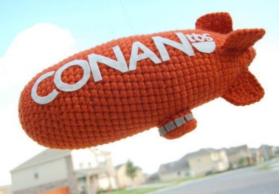 Conan O'Brien Blimp by Alliecat30 on Craftster