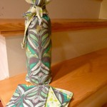 Wine Gift Bag by NicoleMarie on Craftster
