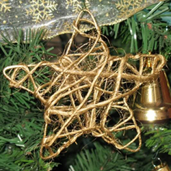 Handmade String Star Ornament by sonicsink on Craftster