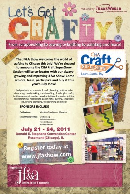 2011 Summer Craft SuperShow Flyer
