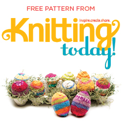 Download the Knitting Today Easter Eggs Tutorial PDF
