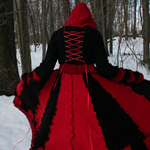 Queen of Hearts Upcycled Fairytale Sweater