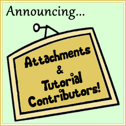 New Feature for Attachments and Tutorial Contributors on Craftster