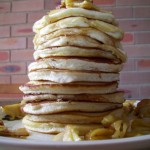 Pancakes and Stewed Apples Recipe