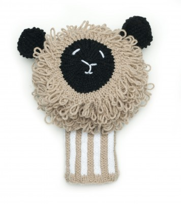 Loopy Lamb Golf Club Cover Free Pattern from Knitting Today! magazine