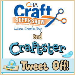 CHA and Craftster Tweet Off