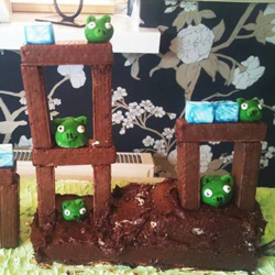 Angry Birds Playable Cake