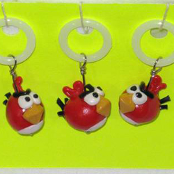 Angry Birds Stitch Markers