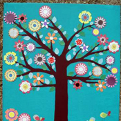Cricut Flower Tree