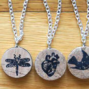 Cork Pendants
