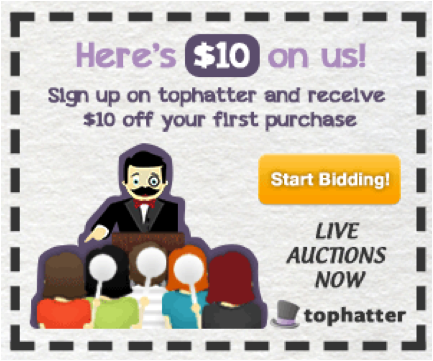 Tophatter Coupon