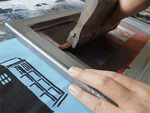 Learn how to screenprint