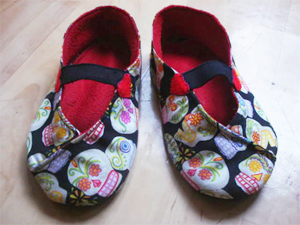 Custom make slippers to fit your feet