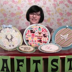 Embroidery Hoop Plates