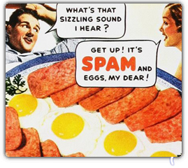 We Had A Fresh Batch Of Meaty Logos Featuring Vintage SPAM Ads