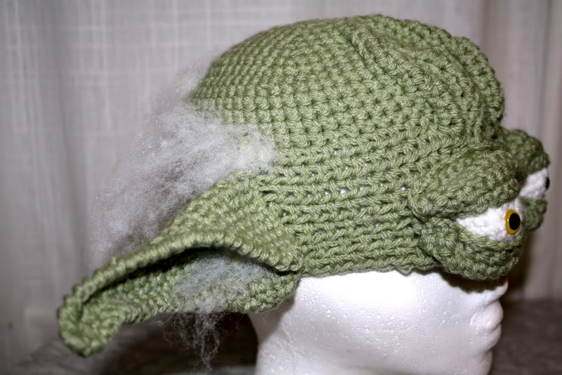 Yoda Hat (lots of pics) NOW WITH TUTORIAL!! - CROCHET cf9c43bcb73