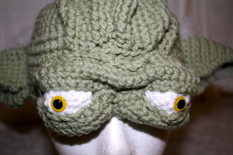 Yoda hat lots of pics now with tutorial crochet dt1010fo