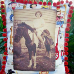 Heirloom Cowgirl Pillow