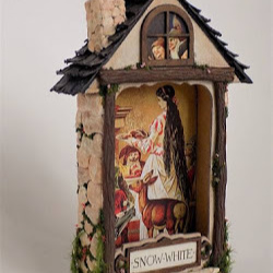 Tute Tuesday: Altered Tin House | Craftster Blog