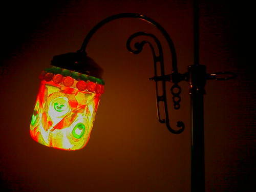 Fruit Roll-up lamp