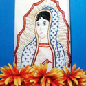 Virgin of Guadalupe Embroidery