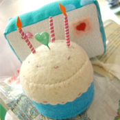 Birthday Cake Pincushion