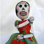 Day of the Dead Pincushion