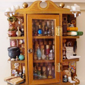 Miniature Potions Cabinet