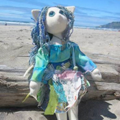 Ocean Themed Poppet