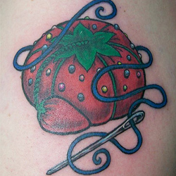 Pincushion Tattoo