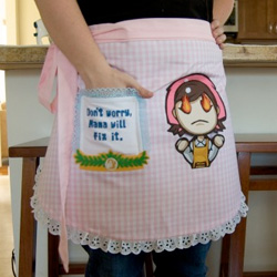 Cooking Mama Applique Apron
