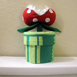 Mario Bros Pipe Cozy
