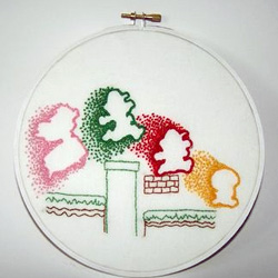Super Mario Embroidery