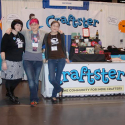 Craftster CHA Booth