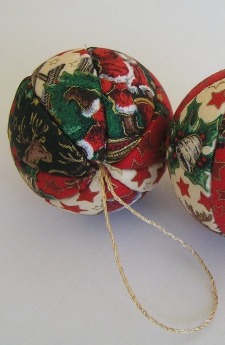 Vintagey Christmas Ornaments