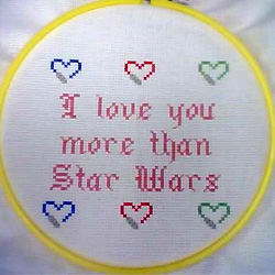 I love you more than Star Wars