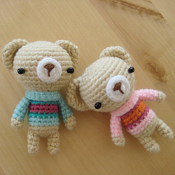 Amigurumi Anthropomorphic Bear