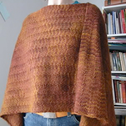 Herringbone Stitch Poncho