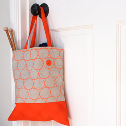 Printed Fabric Bag