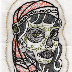 Day of the Dead Embroidery