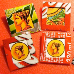 Upcycled Brooches