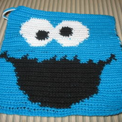 Cookie Monster laptop cover